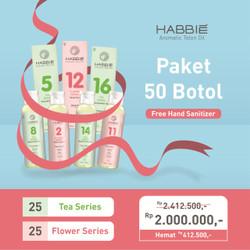 Habbie Paket Bundling Reseller Habbie 50 Botol
