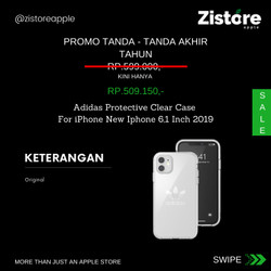 PROMO!!! Adidas Protective Clear Case For iPhone New Iphone 6,1 Inch
