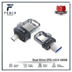 SanDisk FlashDisk OTG 16Gb USB 3 - Flash Disk 16Gb OTG - SDDD3 16 Gb