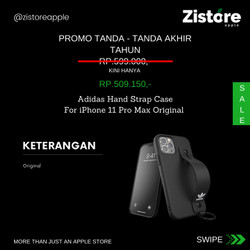 PROMO!!! Adidas Hand Strap Case For iPhone 11 Pro Max