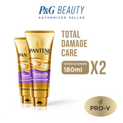 TWIN PACK Pantene Conditioner 3 Minutes Miracle Quantum Total Damage