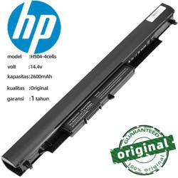 Batre Baterai Laptop HP 14-an004au HS04 ORIGINAL Bergaransi