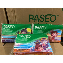 paseo smart facial tissue pack 50 sheets 2 play