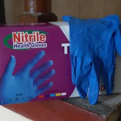 Topmed nitrile glove