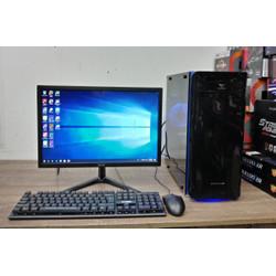Satu Set PC Intel core i5 ram 8gb + Monitor LED 19 inc Siap pakai