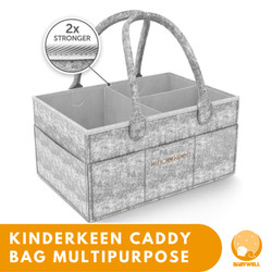 Kinderkeen Multipurpose Caddy Bag - Grey