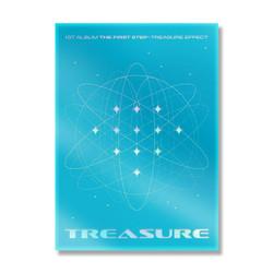 TREASURE 1ST ALBUM [THE FIRST STEP : TREASURE EFFECT] (Blue ver.)