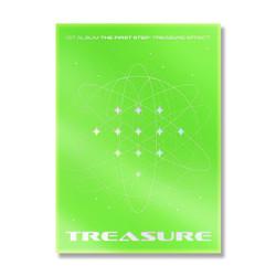 TREASURE 1ST ALBUM [THE FIRST STEP : TREASURE EFFECT] (Green ver.)