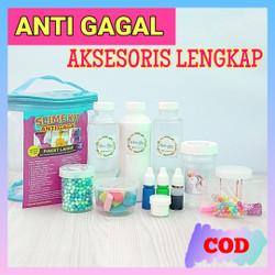Slime Kit ISI BANYAK/LENGKAP/ANTI GAGAL/ Slime Kit Large/Bahan Slime