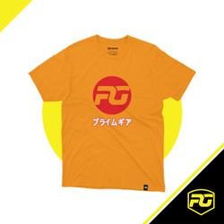 T-Shirt Prime Gears Logo Red Japan
