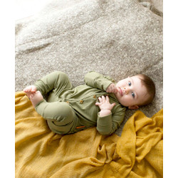 Takoyakids Essentials Suki Foldable Pyjamas Sets Olive