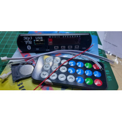 kit modul mp3 bluetooth + remot +kabel +kabel /kit mp3 bluet grc