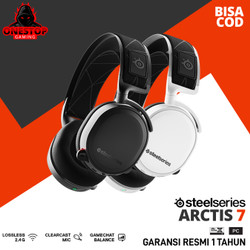 Steelseries Arctis 7 - Wireless Gaming Headset - Putih