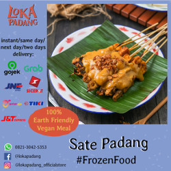 Sate Padang Loka (Frozen)