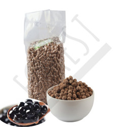 Topping BOBA Tapioka Pearl 1 Kg - Forest Bubble Drink