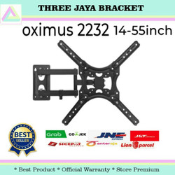 Bracket tv swivel 55 50 49 43 32 inch / Breket Tv LED Lengan