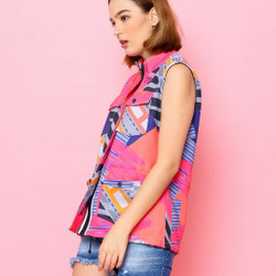 Vest - Pink Path Series - - All Size Besar