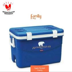 KHUSUS GOJEK! COOLER BOX ICE / BOX ES ANTARTICA MARINA 55 L LION STAR