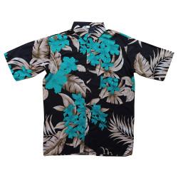 Kemeja Floral Size Jumbo - Kemeja Hawai Ukuran Besar Motif Hibiscus