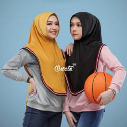 Jilbab Hijab Kerudung instan Sport Jilbab Bergo Terbaru untuk Olahraga