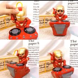 mainan dance hero dynamic dj iron man