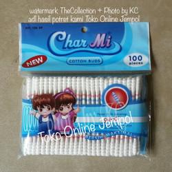 RM0053 (isi100) 126SP Cotton Buds Spiral CharMi korek kuping Telinga