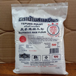 Erawan Brand Glutinous Rice Flour (TEPUNG KETAN) 500gr