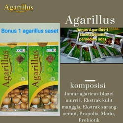 Agarillus obat kannker struk jantung diabetes dll