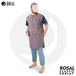 ROSAL - Rompi Pakaian Shalat Salat Baju Koko Gamis Pakistan Pria