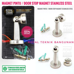 CAB Door Stopper SS Stainless / Penahan Pintu / Magnet Stoper