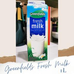 Susu Greenfields 1L fresh milk