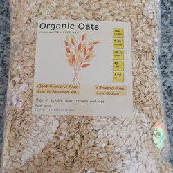 rolled oat 1kg / gandum utuh