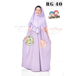 New Gamis Anak Raggakids RG 40 Size XXL (Gamis Only)