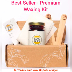 Cool Sugar Wax Size S Waxing Kit - Perontok Bulu