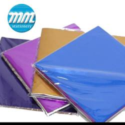 Kertas Lipat Origami Metalik 16x16