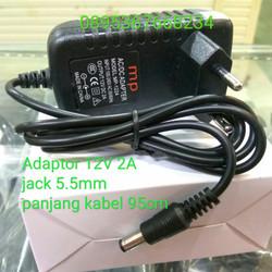 Adaptor cctv 12v 2A Adaptor LED murah Yomiko