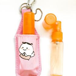 Pouch keychain hand sanitizer (FREE bottle)