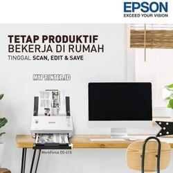 SCANNER EPSON DS-410 EPSON DS410 SCAN UP TO A3 STITCH GARANSI RESMI