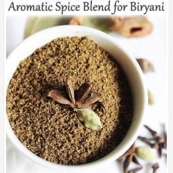Hom made Biryani Masala(Bumbu) for 2 portions with Shukriya Basmati