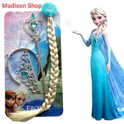 Rambut Mahkota Crown Elsa Kostum Frozen 2 Hadiah Kado Ultah Anak Murah