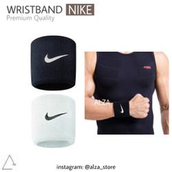 Wrist Band | Wristband Nike Putih Hitam - Hitam