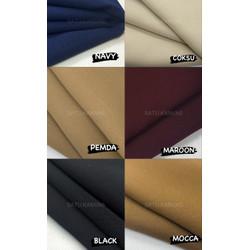 Kain wolvis / wolvis / kain woolpeach premium grade a fashion gamis