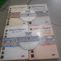 minna no nihongo 1 dan 2 ada cd
