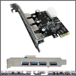 PCI USB CARD 3.0 4 PORT