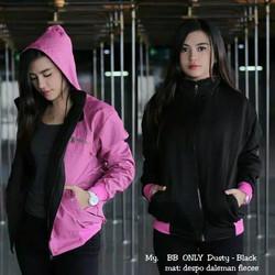Jaket Parasut Bolak Balik BB Only Best Seller Terbaru Kekinian Pink
