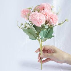 (Pink Muda) Bunga Hydrangea / Hortensia Imitasi / Artificial / Palsu