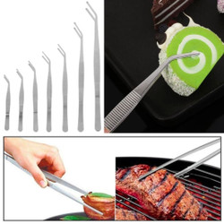 IG LY New Plating Chef Kitchen Tool Serving Presentation Food Tweezer - 20cm