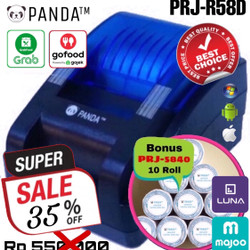 PRINTER BLUETOOTH KASIR/PPOB PANDA PRJ-R58D THERMAL 58MM ANDROID+IOS+W