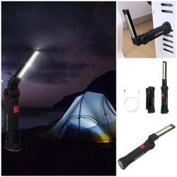 Taffled lampu tenda - senter worklight cob magnetic led 2000 lumens