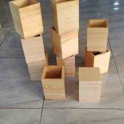 Baki Serbaguna / Tempat Pensil Kayu/ Tempat Sutil